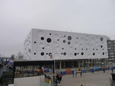 Panelen bioscoop Gouda