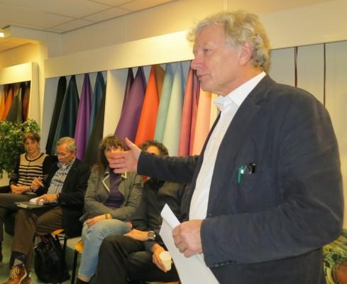 Wim Poelman op de beleving van leer bij Rompa Leder